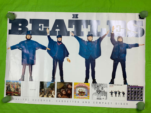 The Beatles 1992 CD Poster