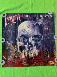 "Slayer - 1988 ""South of Heaven"" Def Jam Promo Poster"