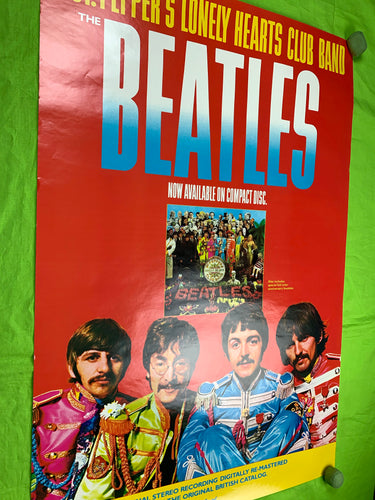 The Beatles CD Promo poster 1987