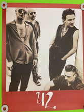 Load image into Gallery viewer, U2 Poster 1991