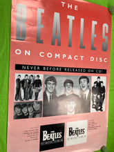 Load image into Gallery viewer, The Beatles 1988 CD Pink Poster