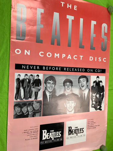 The Beatles 1988 CD Pink Poster
