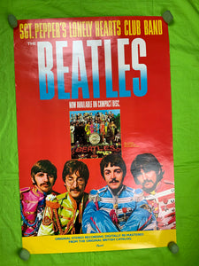 The Beatles 1987 CD Poster