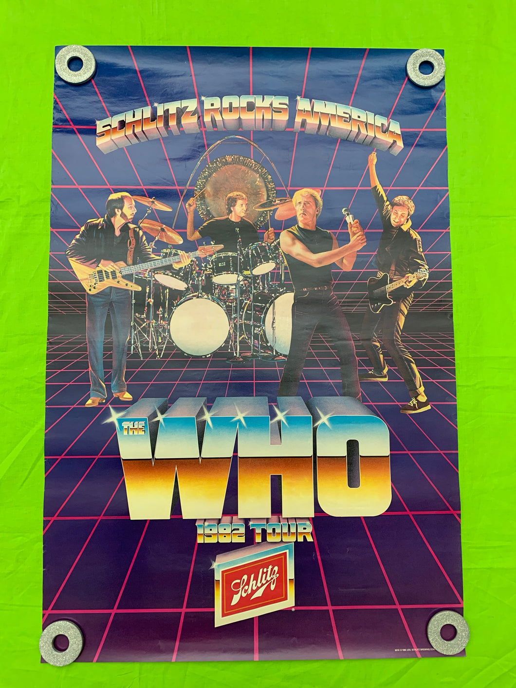The Who - 1982 Tour Poster