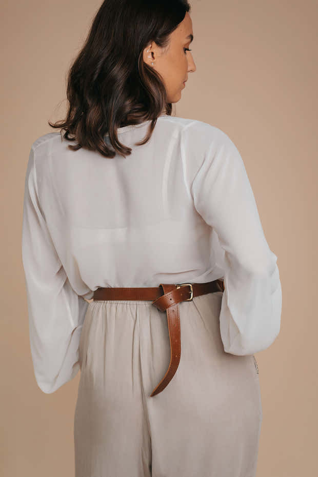 brown leather 3-in-1 beltbag 1
