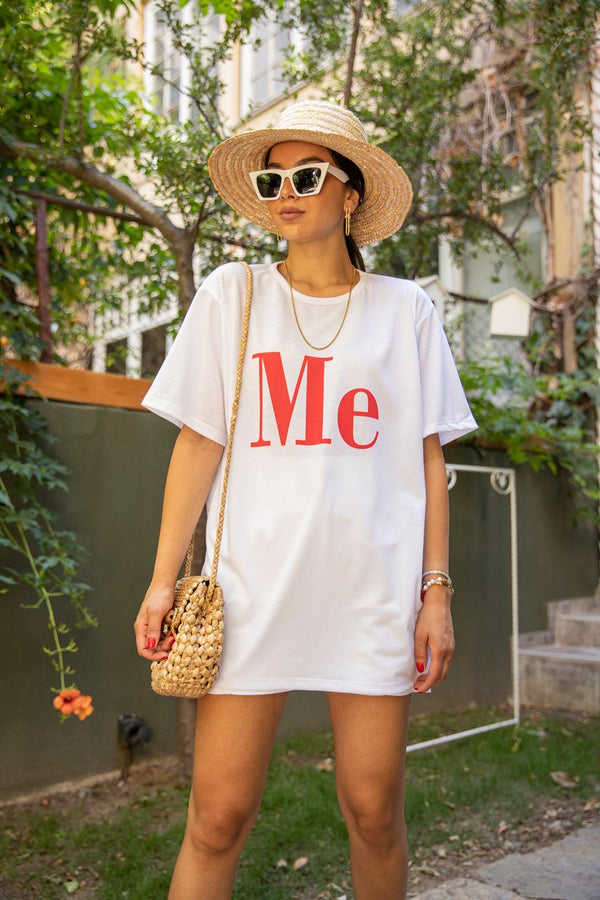 Oversized T-Shirt Printed