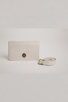 Ivory leather 3-in-1 beltbag