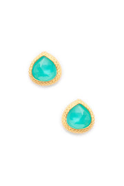 Peruvian Opal Post Earrings