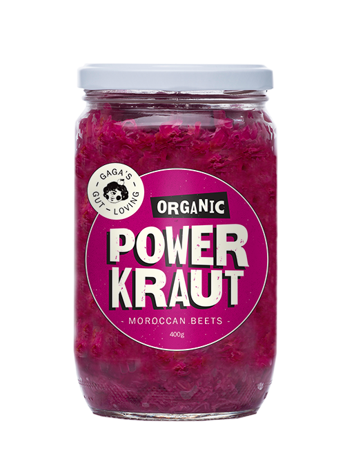 Morrocan Beets Power Kraut