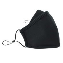 Load image into Gallery viewer, 3 Layers - Black -  Adults- Nose Flap - Adjustable Straps.