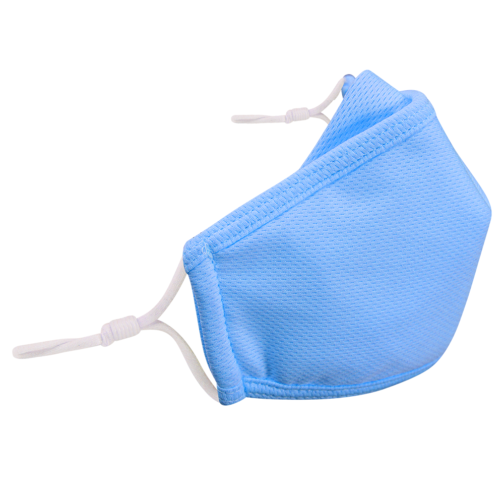 Multi colors- KIDS - Nose Flap - 3 layers Cloth Mask. Adjustable Straps.