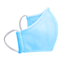 Load image into Gallery viewer, 3 Layers - HM99 - Kids - Nose Wire - Blue - Non- Adjustable Straps. Size S