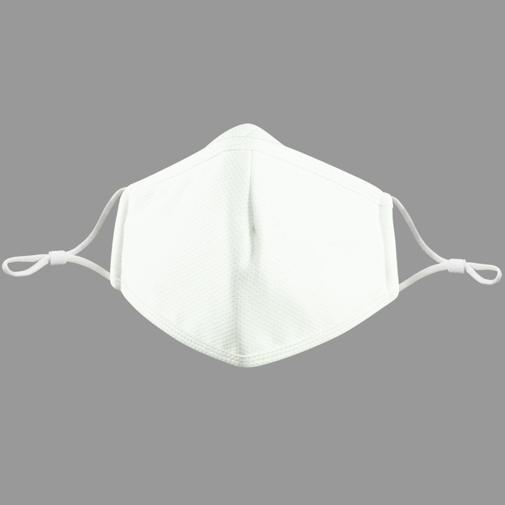 3 Layers - White -  Adults - Nose Flap - Adjustable Straps