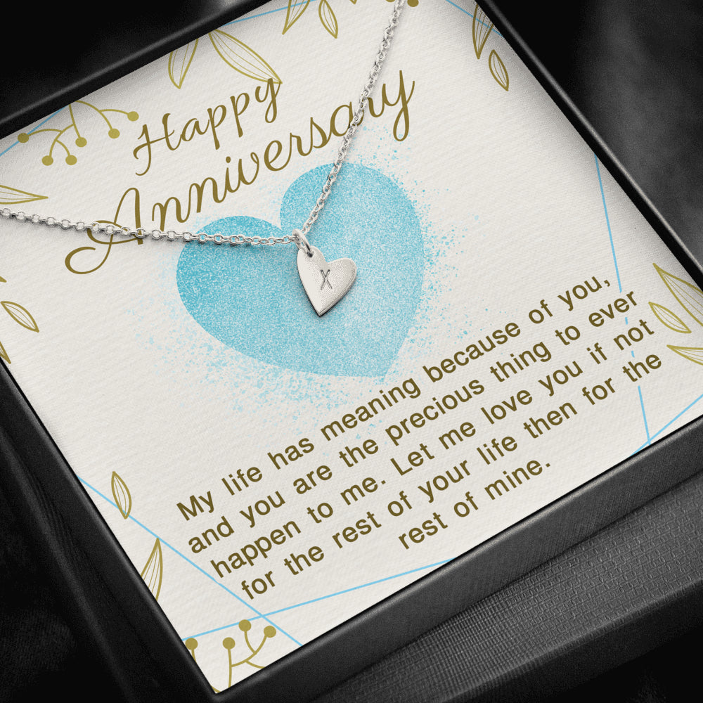 Happy Anniversary - Sweetest Hearts Necklace