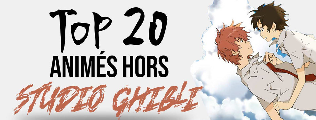 TOP 20 Film d'animation japonais