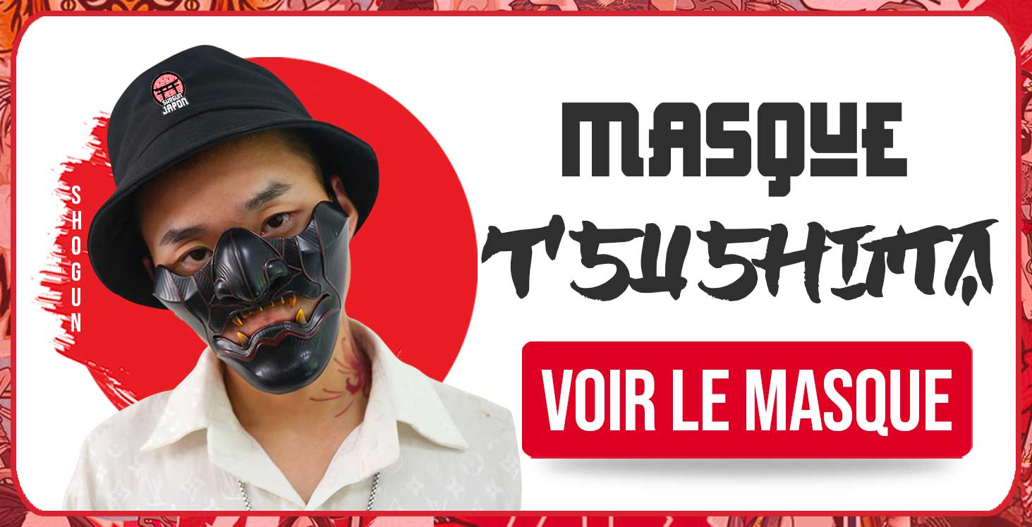 Achat masque Ghost of Tsushima