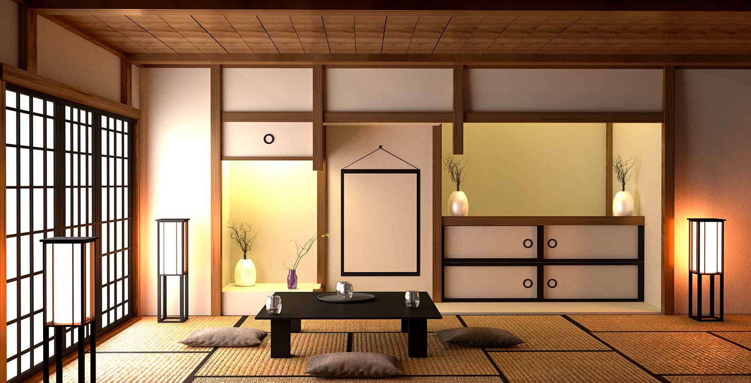 how to have a Japanese deco
