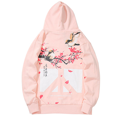 Sweat Japonais Sakura Rose