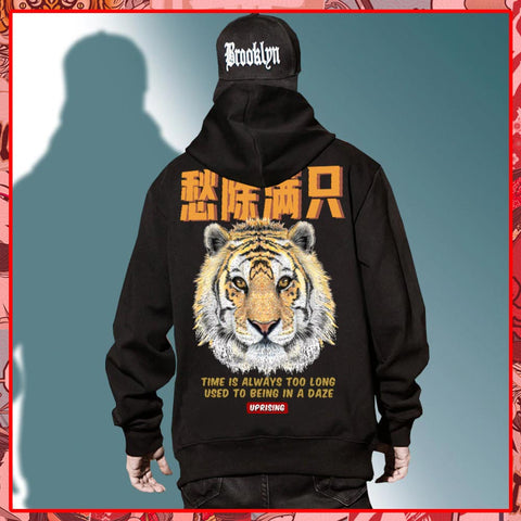 Sweat-Japonais-Tigre