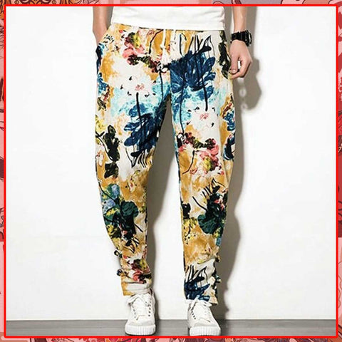 Pantalon Grand Style Japon