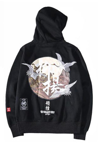 Sweat Imprime Japonais