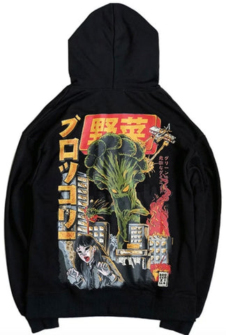Sweat Japonais Kaiju