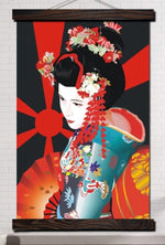 Tableau Geisha Traditionnel
