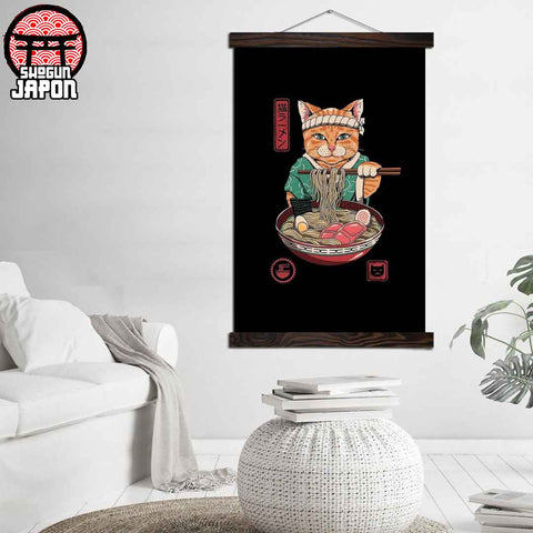 tableau-maneki-neko-decoration