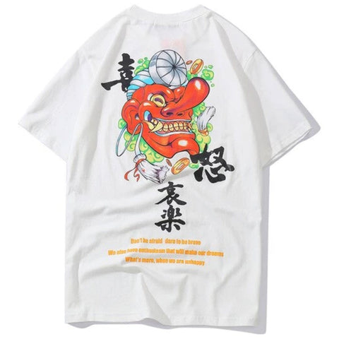 Tee Shirt Inscription Japonais