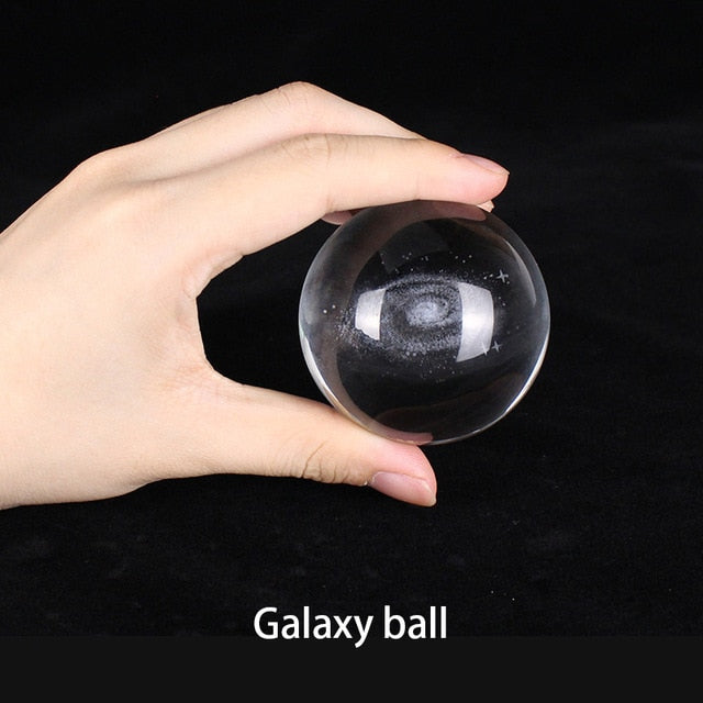 Galaxy and Solar-system crystal