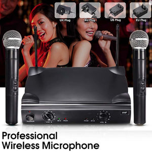 UT4 Type Professional Dual Wireless Microphone System
