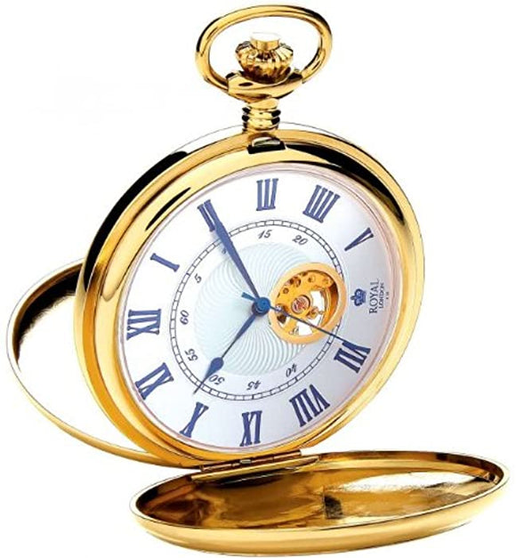 ROYAL LONDON FULL HUNTER POCKET WATCH