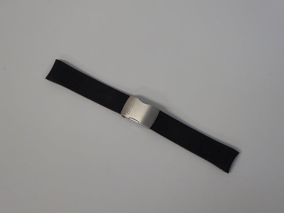 CITIZEN BLACK SILICONE / TITANIUM STRAP 22MM
