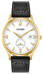 CITIZEN MEN'S ECO-DRIVE ROUND WATCH