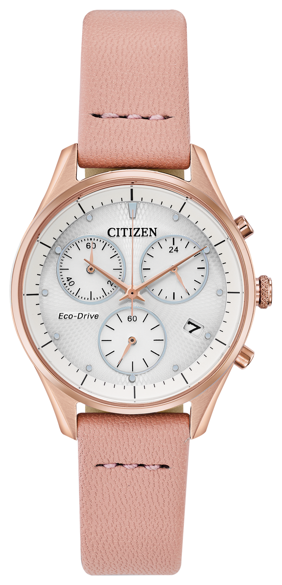 CITIZEN LADIES' ECO-DRIVE CHRONOGRAPH WATCH