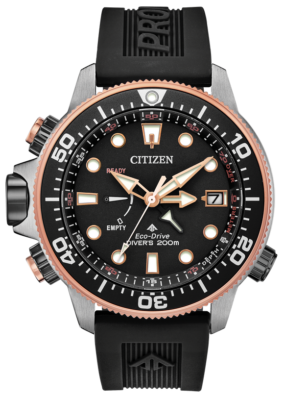 CITIZEN MEN'S ECO-DRIVE PROMASTER LTD EDITION DIVER'S WATCH 200M