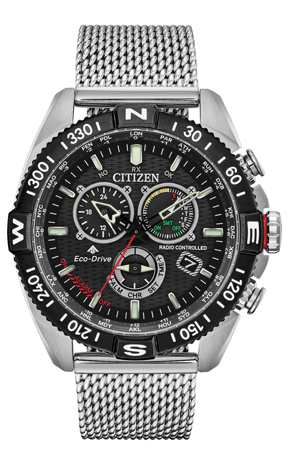 CITIZEN MEN'S ECO-DRIVE PROMASTER NAVIHAWK CHRONOGRAPH 200M