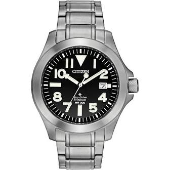 CITIZEN MEN'S ECO-DRIVE PROMASTER TITANIUM WATCH 300M