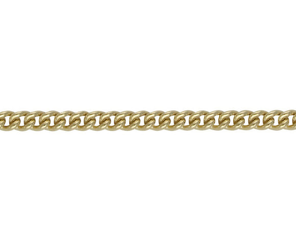 9CT GOLD CURB 48 CHAIN