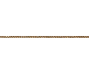 9CT ROSE GOLD SPIGA 40 CHAIN