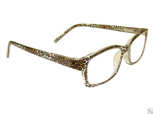 CLERE VISION SHARD LEOPARD READING GLASSES