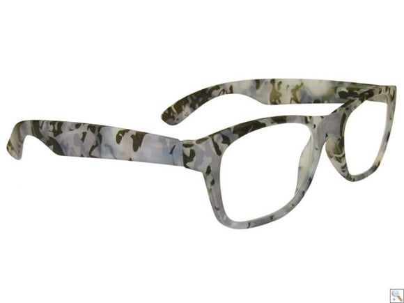 CLERE VISION CAMOUFLAGE READING GLASSES