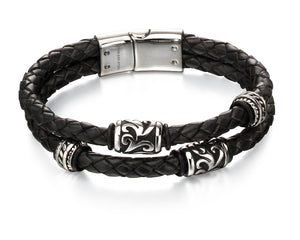 FRED BENNETT LEATHER BRACELET