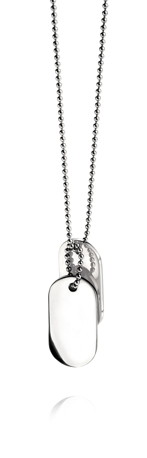 FRED BENNETT DOG TAG NECKLACE
