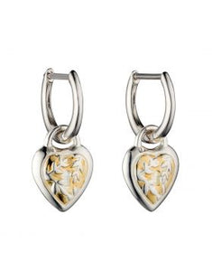 SILVER & GOLD PLATED EARRINGS