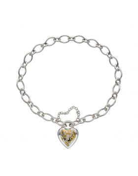 SILVER & GOLD PLATED BRACELET