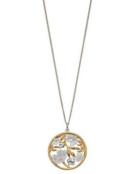 SILVER & GOLD PLATED PENDANT