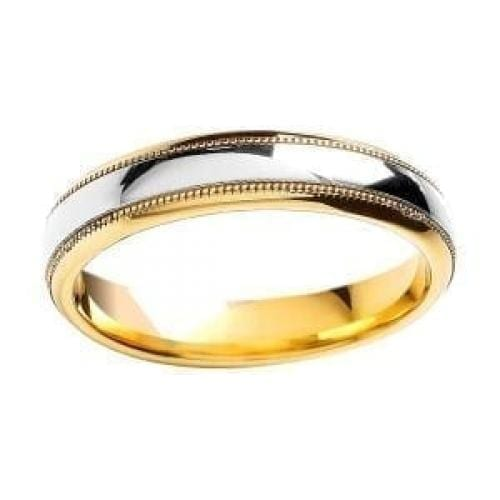 BROWN & NEWIRTH 9CT GOLD WEDDING RING