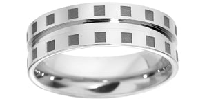 BROWN & NEWIRTH PALLADIUM WEDDING RING