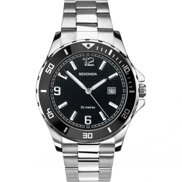 SEKONDA MEN'S SPORTS WATCH
